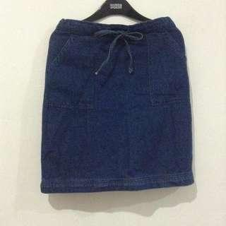 Rok Pendek Jeans