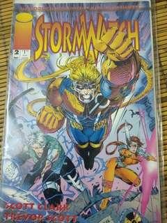 Stormwatch issue #2..rare collection