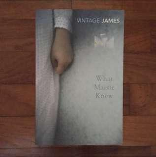 🚚 Henry James: What Maisie Knew