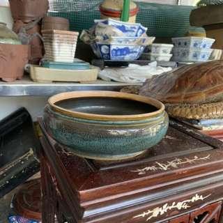 Vintage flowers pot