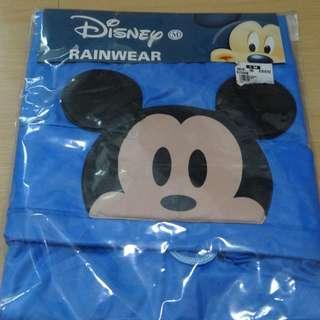 Disney Mickey Blue/ Red Star Force Rain coat