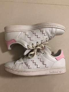 adidas stan smith pink zigzag