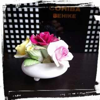 Royal Doulton 骨瓷小花裝飾bone china posy bowl ornament