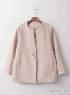 Korean pink coat brand new