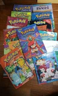 Pokemon comics and books