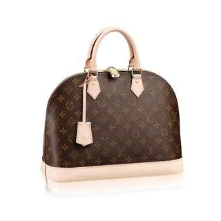 Louis Vuitton LV Alma PM Monogram Canvas Handbag