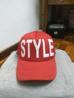 Red STYLE Cap #MFEB20