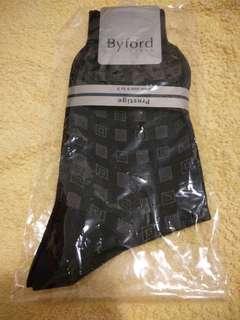 Byford絲光棉襪一對