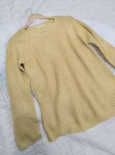 Sale!! Golden Knit Sweater