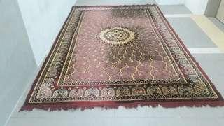 It's a Persian carpet is from Turkey
