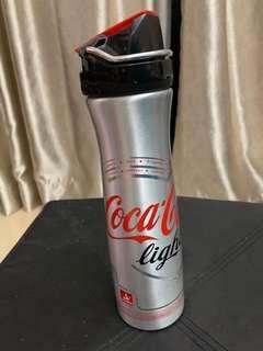 Coca-Cola light 金屬水樽