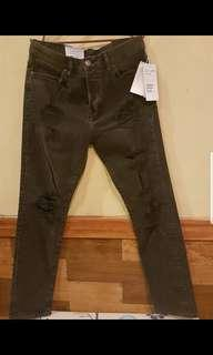 H& M RELAXED SKINNY Jeans FOR MEN brand new