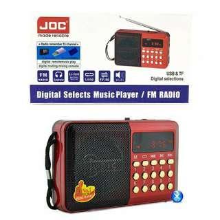 Radio MicroSD Digital MP3 Player FM Tuner