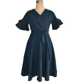 Ruffle Dress  #JAN50