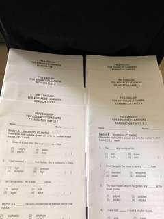 English Mock Examination Papers For Advanced Learners
