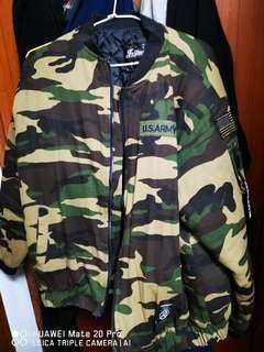 🚚 迷彩飛行夾克(XL)
