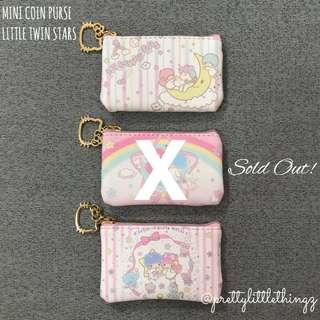 🚚 《instock mini purse》sanrio little twin stars