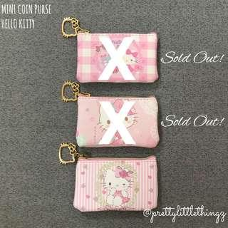 🚚 《instock mini purse》sanrio hello kitty