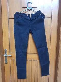 Celana panjang hitam hermes