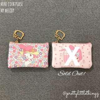 🚚 《instock mini purse》sanrio my melody