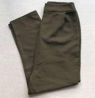 🚚 SALE❗️Olive green culottes pants