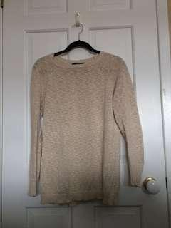 F21 shimmer sweater