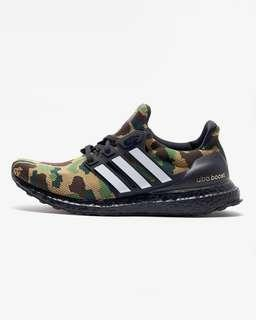 US 9 adidas bape a bathing ape ultraboost green camo