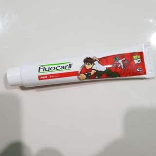 [FREE MAIL]BN fluocaril kids toothpaste