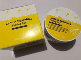 Lemon Sparkling Peeling Pad