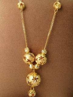 🚚 916 Gold Chocker Chain