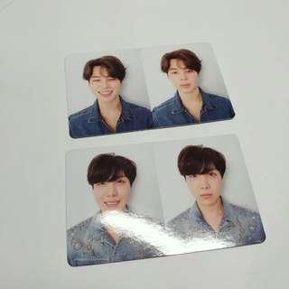 OFFICIAL BTS JIMIN JHOPE LOVE YOURSELF LY TEAR Y O U R ALBUM PHOTOCARDS