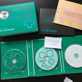 OFFICIAL BTS 3RD MUSTER DVD