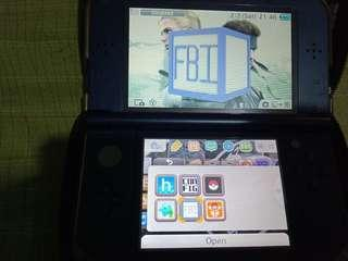 Nintendo 3DSXL Metallic Blue CFW