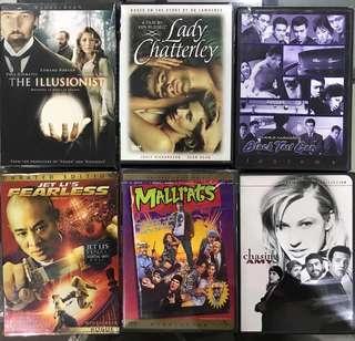 English movie DVD