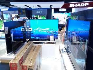 TCL Televisions on Sale! 32 to 75 inches