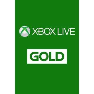 🚚 Xbox Live Gold 12 months
