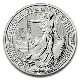 2018 Oriental United Kingdom Britannia Silver Coin (1 oz) – Limited Edition