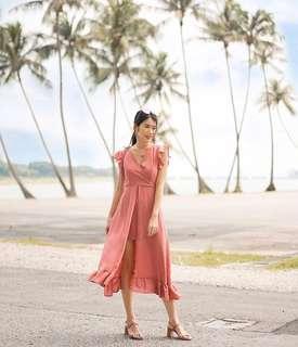 Montif Femme maxi dress (Pink)
