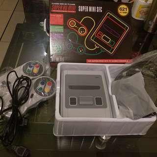 懷舊復古電視遊戲機621合1 HD Super mini sfc tv game 621 in 1