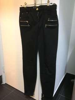 Zara Black Denim Jeans