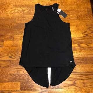 Brand new with tag Cotton On Body black work out tie back tee