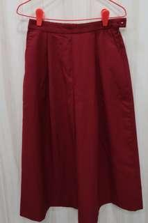 Spao Red Culottes