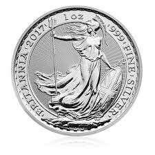 Britannia 2017  Silver Bullion Coin - 1 oz