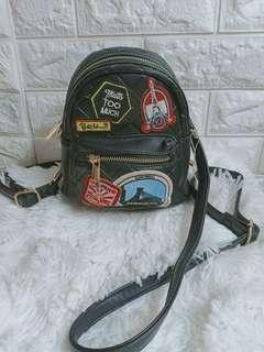 authentic aldo 3 n 1 sling and bagpack not mk,coach ,ks,dkny,lacoste
