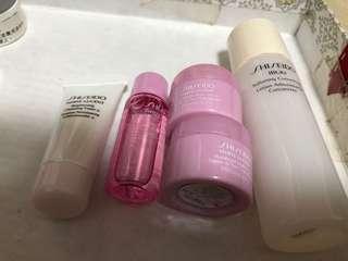Shiseido 5pcs sample set