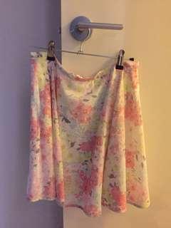 Forever New Patterned Skirt