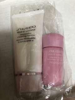 Shiseido 2pcs sample set