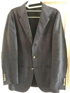 United Arrows blue checks blazer