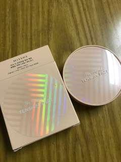 Missha the original tension pact perfect cover #23 cushion foundation 氣墊粉底