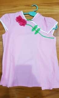🚚 Oriental collar girl's top